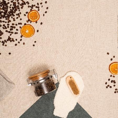 Gommage corps exfoliant café et sucre