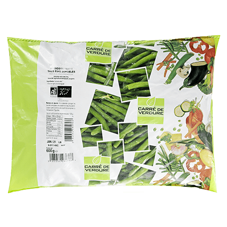 Haricots verts bio extra fins 1