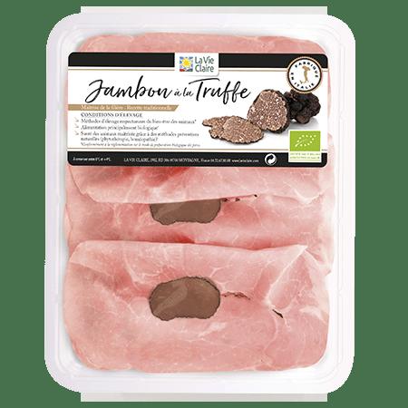 Jambon à la truffe bio
