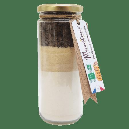 Kit de préparation pour cookies aux pépites de chocolat bio