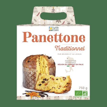 Panettone traditionnel bio 2