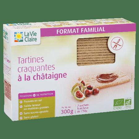 Tartine Craquantes Châtaigne bio