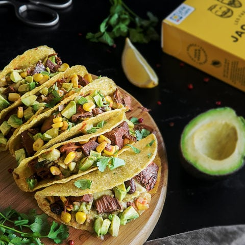Tacos vegan aux fruits du Jacquier