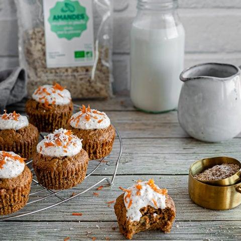 muffins à la carotte