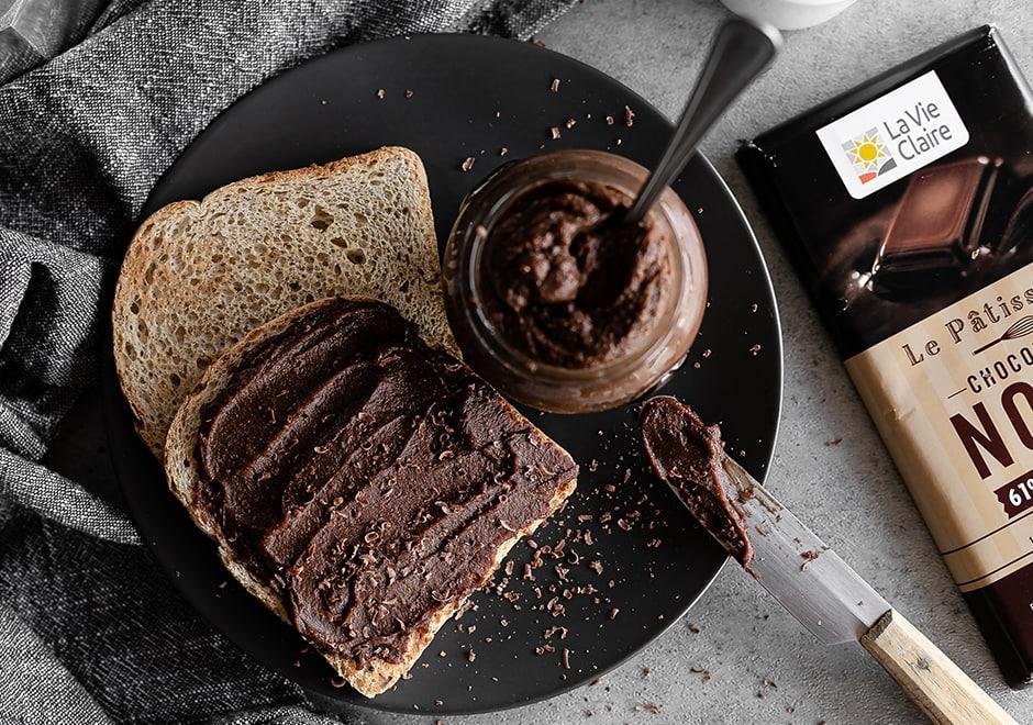 Pâte à tartiner chocolat noir