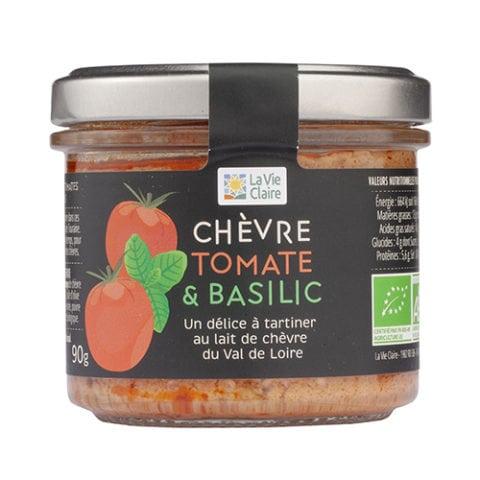 chèvre tomate et basilic