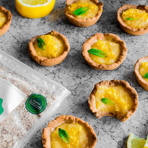 Tartelettes individuelles au citron et gingembre