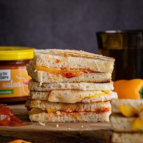 Mini sandwiches au fromage