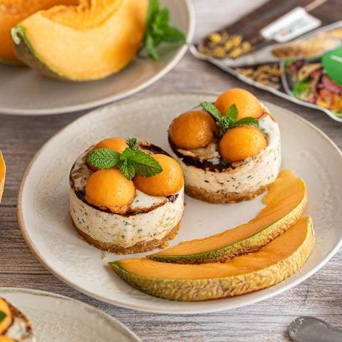 Cheesecake au melon