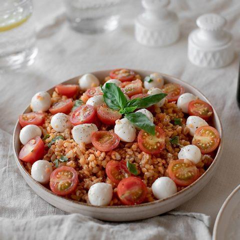 Salade de lentilles rouges 1