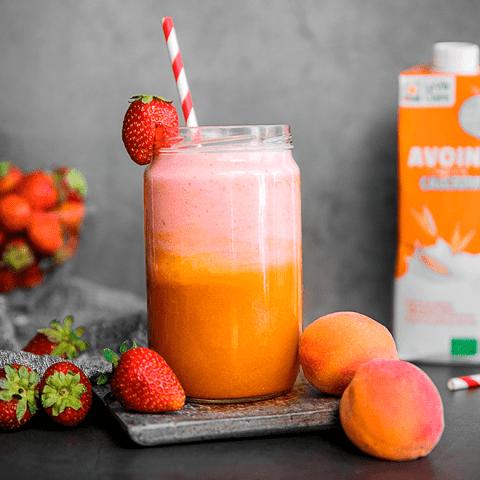 Smoothie fraise et abricot