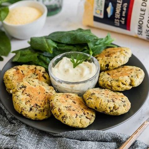 Galettes aux champignons et fromage 1