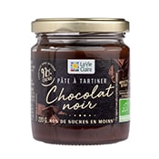 Pâte à tartiner chocolat noir bio