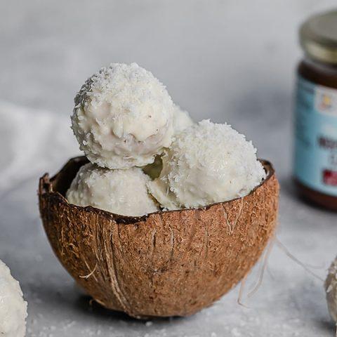 Boules noisettes cacao et noix de coco 1