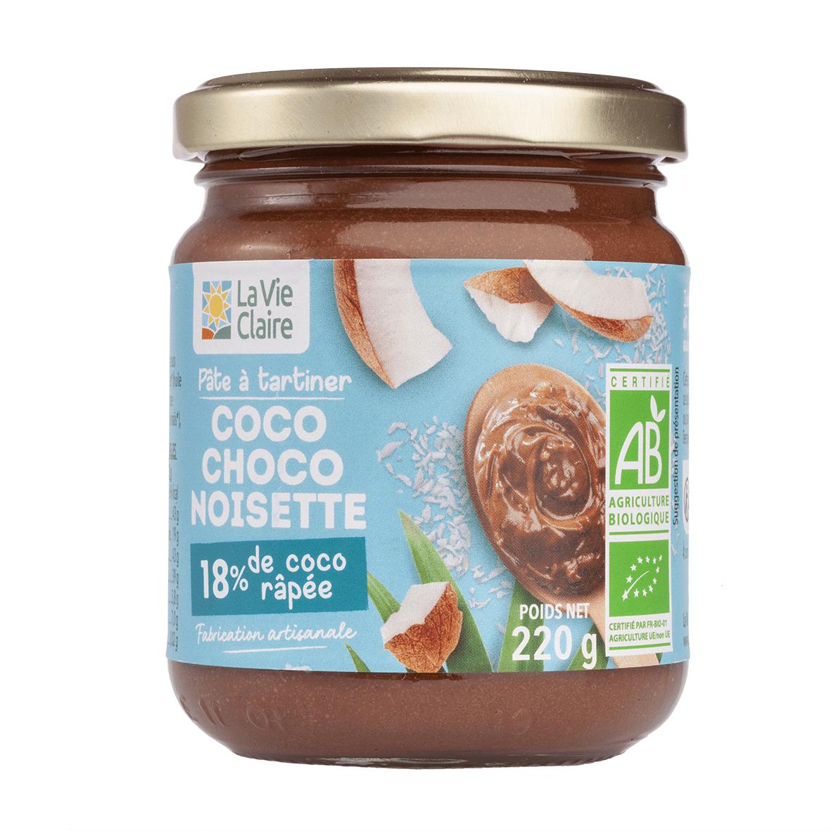 Pâre à tartiner noisettes cacao