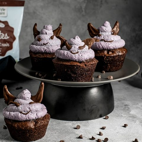 Muffins diable pour Halloween